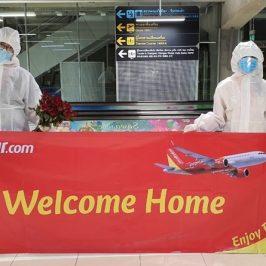 ไทยเวียตเจ็ทจัดเที่ยวบินพิเศษรับคนไทยจากเวียดนามกลับบ้านเพิ่มอีก 69 คน