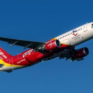 ไทยเวียตเจ็ทจัดโปรฯตั๋วเริ่มต้น 0 บาท บินสะดวกทั่วไทยจากสุวรรณภูมิ